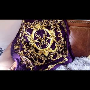 Accessories - Gianni Versace silk scarf NEW W TAGS